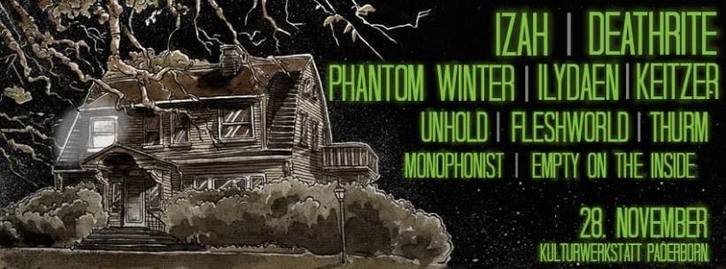 thumbsup banner More shows added! Unholdmusic