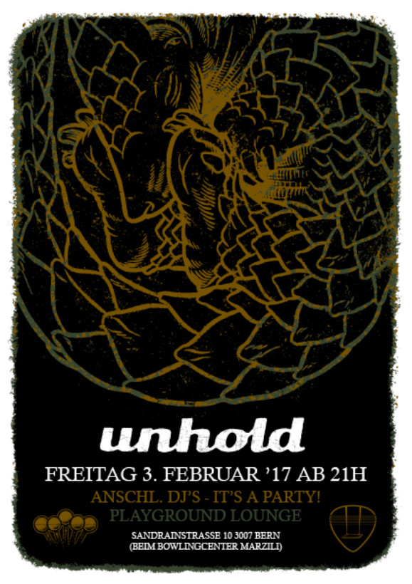 pg flyer Upcoming Shows Unholdmusic